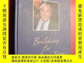 二手書博民逛書店BUILDING罕見FOR THE LONG TERMY1468