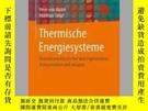 二手書博民逛書店Thermische罕見EnergiesystemeY405706 Peter von B?ckh ISBN