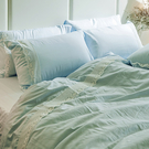 床包被套組 / 雙人加大-獨家布蕾絲【香草布蕾】含兩件枕套,100%精梳棉,在巴黎遇見,戀家小舖