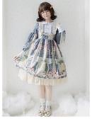 蘿莉連身裙洛麗塔特價裙子原創洋裝lolita全套蘿莉塔學生便宜lo裙公主白菜價非凡小鋪