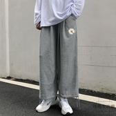 3特超大碼女裝直筒闊腿褲寬版休閒九分束腳哈倫褲子【時尚大衣櫥】