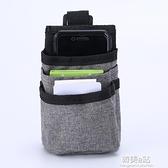 汽車出風口手機袋 空調口置物袋收納盒 車用掛袋車載多功能雜物盒 韓美e站