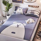 涼席覺先生涼席冰絲席三件套1.5米1.8m床夏季折疊床包組 mc6597『M&G大尺碼』tw