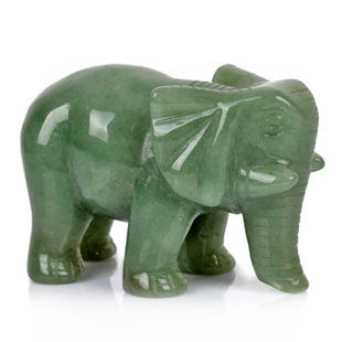東陵玉大象擺件吸財招財鎮宅家居做工藝品風水擺設