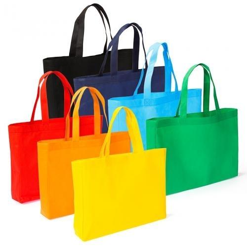 【客製化】不織布袋39x29cm獨立側片8cm短提把(LOGO網版印刷)環保袋 S1-44010A