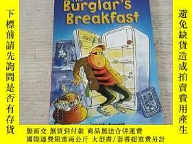 二手書博民逛書店The罕見BURGLAR S BREAKFAST:小偷的早餐(外