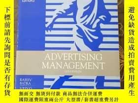 二手書博民逛書店ADVERTISING罕見MANAGEMENTY177301 ADVERTISING MANAGEMENT A