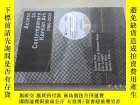 二手書博民逛書店英文書罕見Access to Contemporary Korean Art 1980-2010Y15969