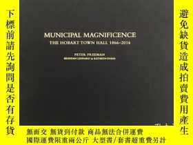 二手書博民逛書店MUNICIPAL罕見MAGNIFICENCE THE HOBA