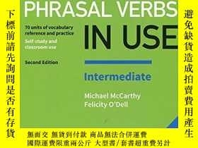 二手書博民逛書店English罕見Phrasal Verbs In Use Intermediate Book With Answ