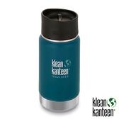 klean kanteen Insulated Wide 12oz寬口保溫鋼瓶(54mm) 附新型咖啡蓋『海王星』K12VWPCC不鏽鋼水壺│保溫杯