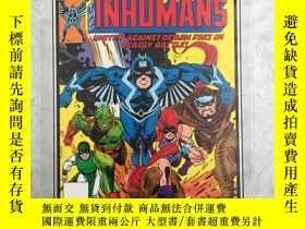 二手書博民逛書店Marvel罕見Masterworks: The Inhuman