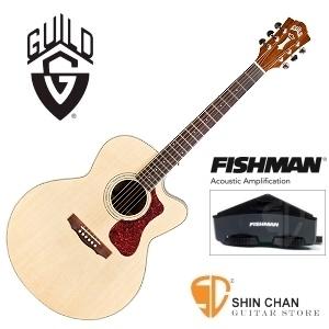 美國經典品牌 Guild F-150CE 可插電切角全單板吉他/Jumbo琴身/Fishman拾音器 附原廠吉他袋