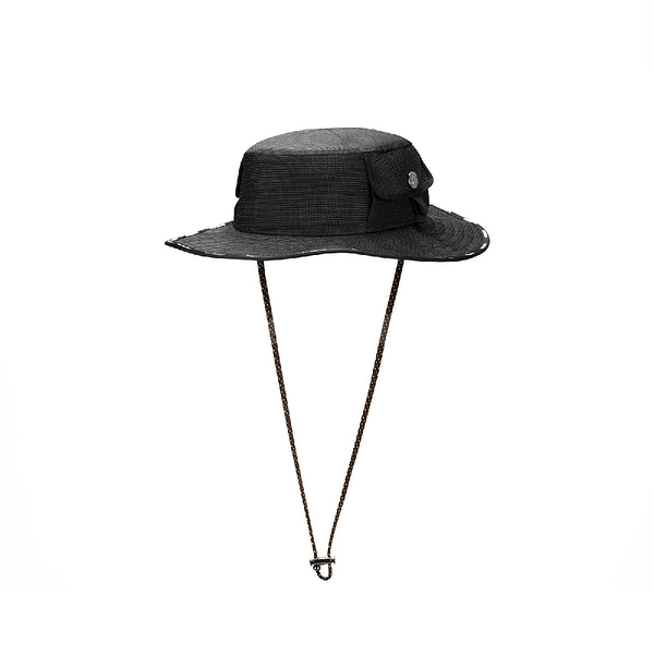 Converse 帽子 Counter Climate 男女款 黑 拉繩 漁夫帽 防曬【ACS】 10022116A01
