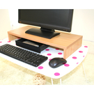 ONE HOUSE-DIY家具-防潑水營幕桌上架附抽屜 功能升級版/螢幕架/五色可選