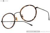 NINE ACCORD 光學眼鏡 ANTICA AV C04 (琥珀-黑) 韓系潮流圓框款 # 金橘眼鏡