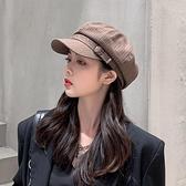 貝雷帽百搭報童英倫復古日系八角帽蓓蕾帽【少女顏究院】
