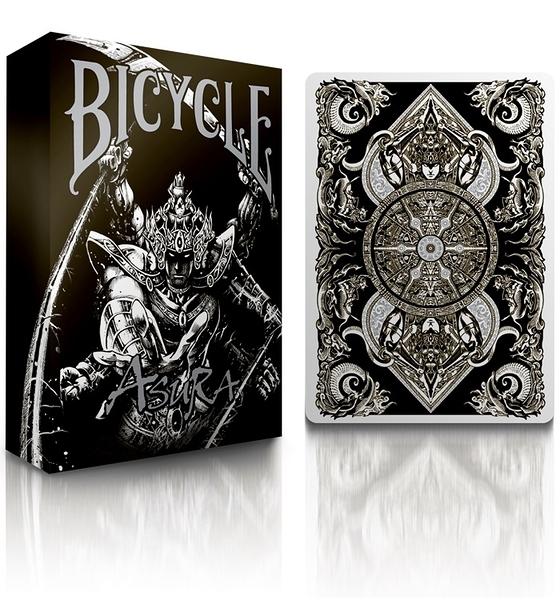 【USPCC撲克】BICYCLE ASURA PLAYING CARDS 黑
