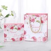 店長推薦▶歐式婚禮糖盒手提袋結婚回禮袋喜糖盒禮盒喜糖袋伴手禮禮品袋套裝