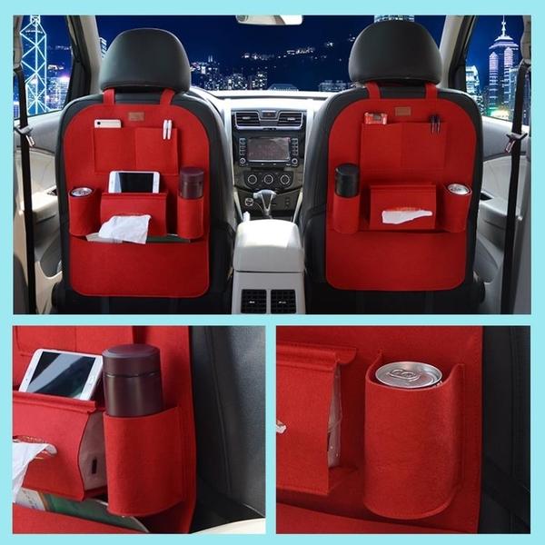 汽車座椅背收納袋多功能車載置物袋車內儲物袋靠背掛袋儲物箱用品YXS 韓小姐