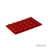 義大利 Pavoni 多連矽膠模 半圓平底 馬卡龍造型 蛋糕模 慕斯模 果凍模 點心模 PV FR006