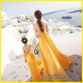 親子裝母女裝沙灘裙