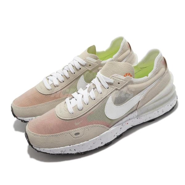 Nike 休閒鞋 Waffle One Crater 灰 白 半透明 再生材質 男鞋 【ACS】 DC2650-200