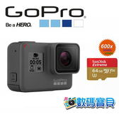 GoPro HERO 5 BLACK 運動攝影機【送Sandisk Extreme 64G高速記憶卡,台閔公司貨】 黑色 CHDHX-501 Hero4後繼