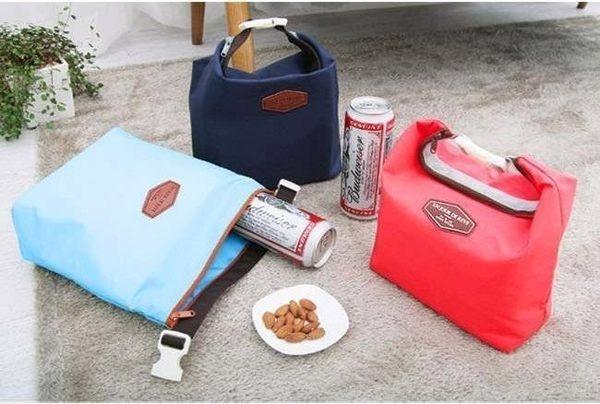 ◄ 生活家精品 ►【Z012】保冷袋 副食品保溫袋 野餐袋 生鮮保溫袋 幼兒園餐盒 午餐帶 可放 便當