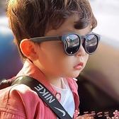 墨鏡男童硅膠太陽鏡兒童可折疊夏季防紫外線墨鏡寶寶遮陽偏光時尚眼鏡 芊墨左岸