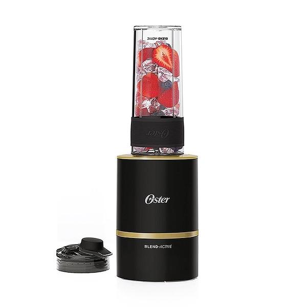 【南紡購物中心】美國OSTER Blend Active隨我型果汁機-黑金BLST120-BBK