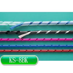 KSS 捲式結束帶(PE) KS-8BK (黑色)