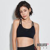 Mollifix 瑪莉菲絲 A++活力雙肩帶舒活BRA (黑)