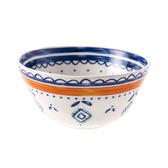 HOLA 諾瑪圖騰多用碗12cm 橘線