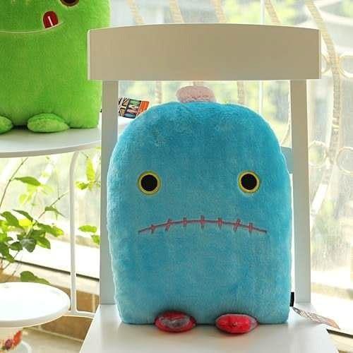 【發現。好貨】Adela愛得拉 可愛創意小怪物毛绒玩具公仔 情侣靠墊 生日禮物