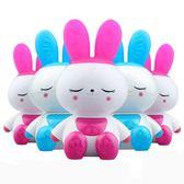 小白兔子會唱歌嬰兒童故事機早教機可充電下載寶寶音樂播放器玩具 igo  露露日記