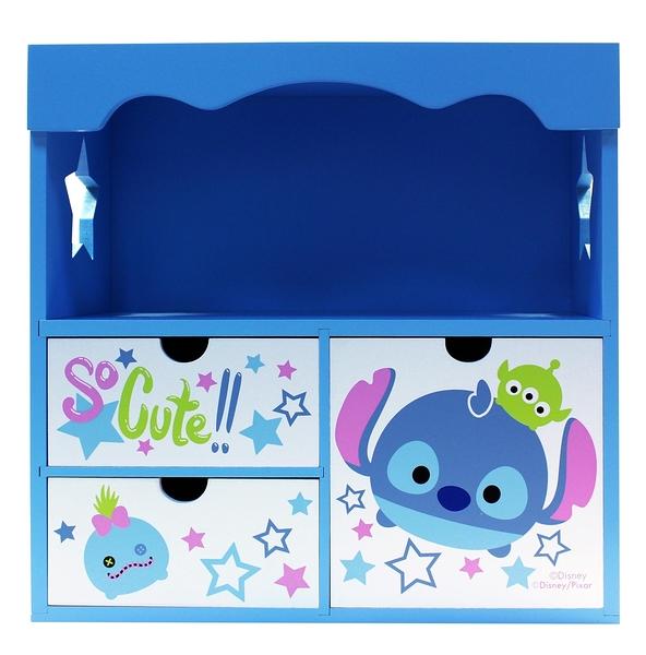 【震撼精品百貨】Stitch_星際寶貝史迪奇~Tsum Tsum史迪奇花邊收納櫃