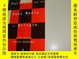 二手書博民逛書店Politics罕見and the Mass Media in