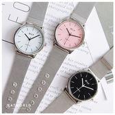 Catworld 大牌感金屬錶帶手錶【18002823】‧F