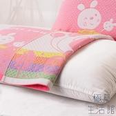 純棉枕巾一對裝全棉吸汗紗布簡約歐式枕巾【極簡生活】