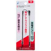 2DS專用 日本 CYBER 金屬伸縮觸控筆 含手繩 黑色款 3DS 主機無法使用【玩樂小熊】