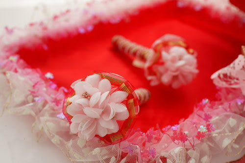 極致奢華喜糖籃組~華麗紅(含喜糖盤*1+喜糖籃*1+簽名筆*2)整組出售~~(籐籃.竹籃)