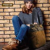 【TROOP】經典品格CLASSIC手提包/TRP0363BK(黑色)
