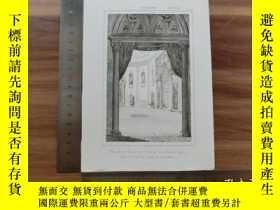 二手書博民逛書店【罕見】19世紀 銅 鋼版畫 單幅 CUARTO DE DORM