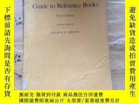 二手書博民逛書店Guide罕見to reference books, ninth