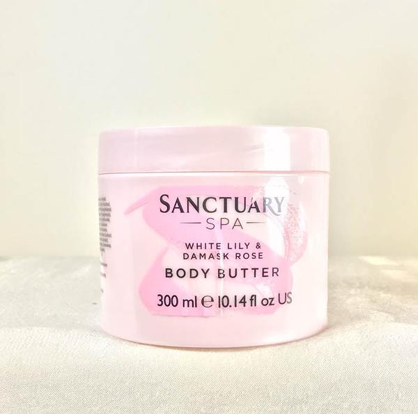 *禎的家* 英國 Sanctuary 聖活泉 身體奶油霜 ~ 百合玫瑰款 300ML 限量新品