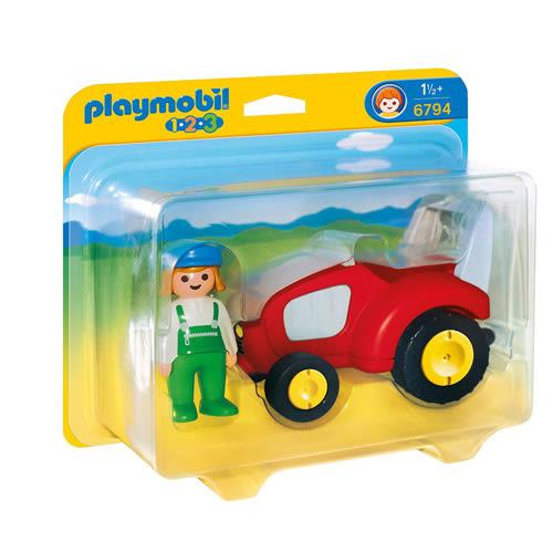 playmobil 123series 小拖拉機_ PM06794