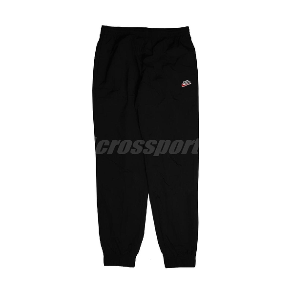 Nike 長褲 NSW Windrunner Woven Trousers 黑 紅 男款 風褲 運動休閒 【ACS】 CJ5485-010