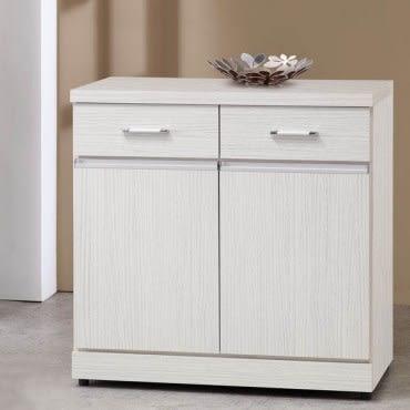Homelike 莎娜2.7尺收納餐櫃