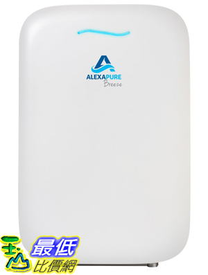 [107美國直購] Alexapure 3049 Breeze Energy-Efficient True HEPA IonCluster Air Purification System White